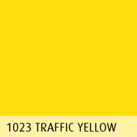 RAL color 01 traffic yellow