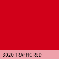 RAL color 03 traffic red